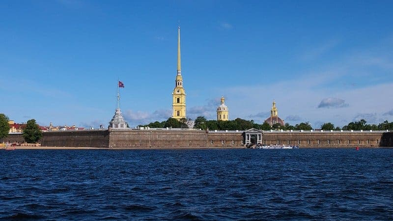 Peter und Paul Festung in Sankt Petersburg