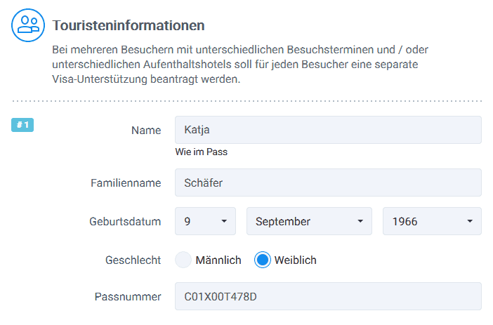 Touristeninformationen